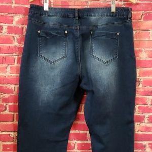 "Buffalo ""MIMI"" mid-rise slim boyfriend Jeans 14/34"